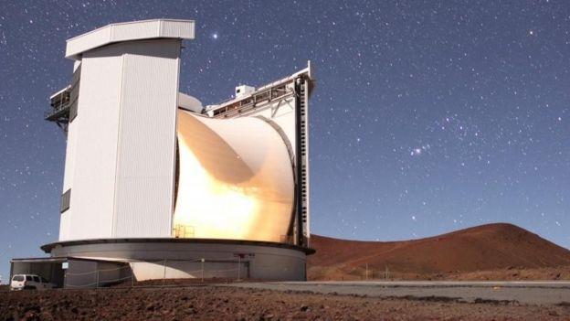 Телескоп на Гавайях, при помощи которого проводили наблюдения