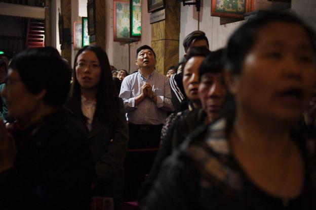 目前在中國估計有1200萬的天主教徒