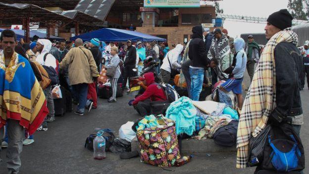 Venezuela'dan her gün yaklaşık 4200 kişi Kolombiya'ya göç ediyor.