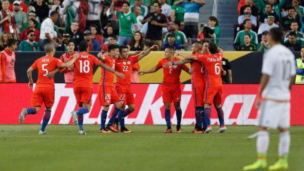 Chile y México en Santa Clara
