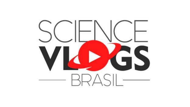 Logo do Science Vlogs Brasil
