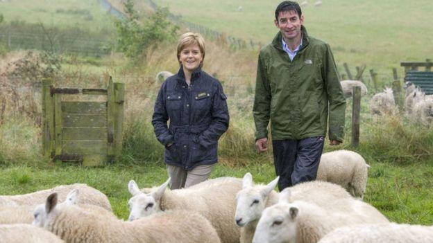 Nicola Sturgeon in Shetland
