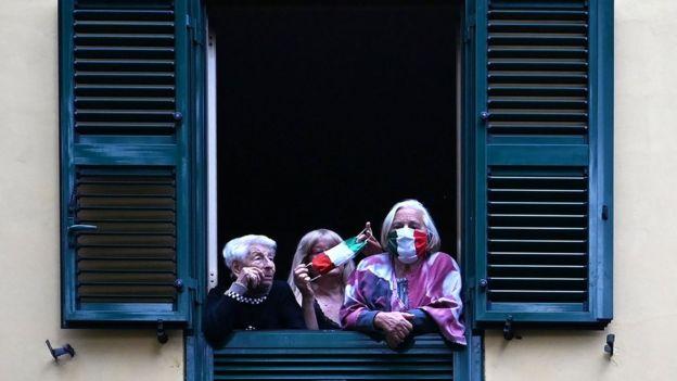 Коронавирус в Италии отступает