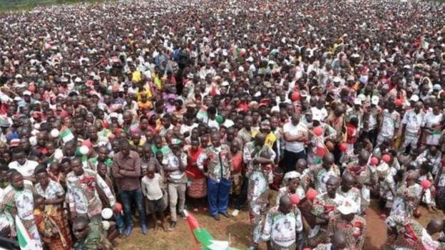 Mikutano ya kampeni za kisiasa nchini Burundi inayofanyika wakati wa virusi vya corona imekua ikikosolewa