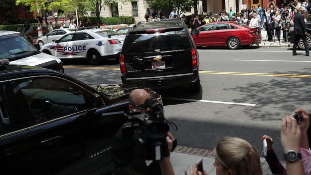 caravana de Trump