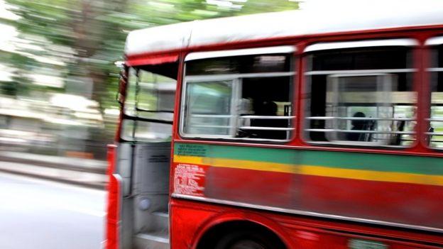 Bus in Mumbai