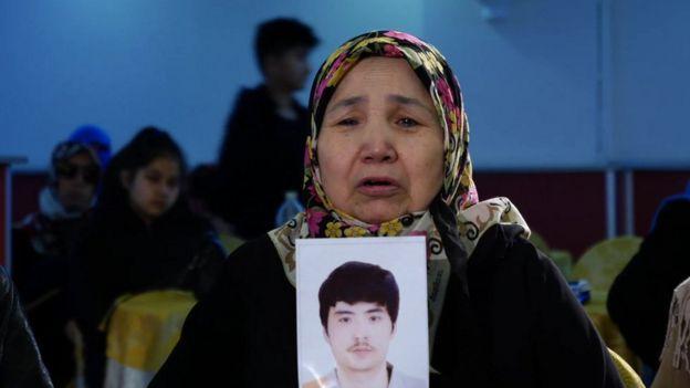 Mulher uigur