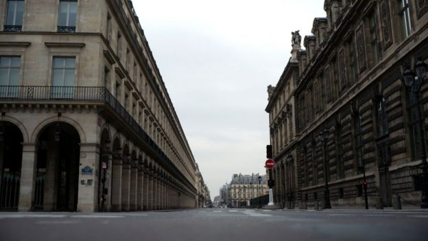 شارع ريو دي ريفولي في باريس