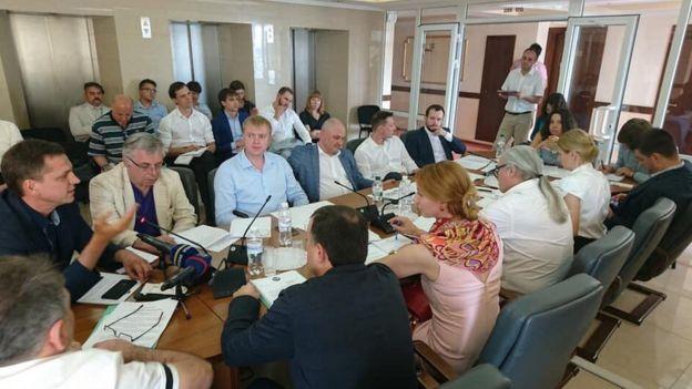 Засідання комітету Верховної Ради