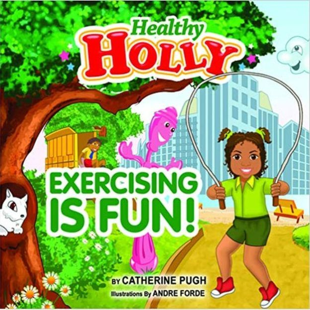 """Photo of Catherine Pugh's """"Healthy Holly"""" book"""