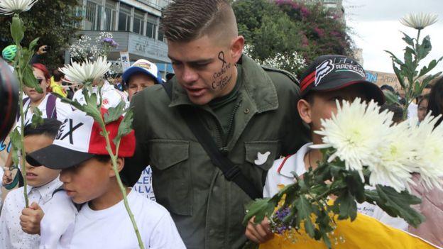 PROTESTA ANTI TERRORISMO.