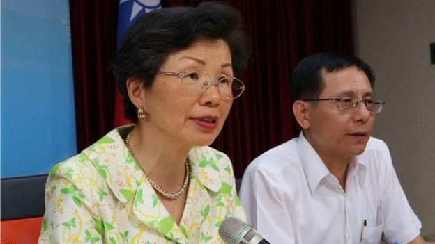 台灣陸委會主委張小月表示,一旦有高階人員如首長等涉及參加此類活動,未來將會剝奪月退俸從10%,最嚴重至100%等連續5年。