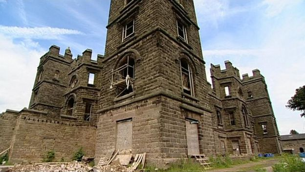 Riber Castle Empty Gothic Turned Into Flats