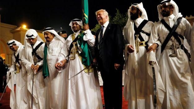 Donald Trump en Arabia Saudita