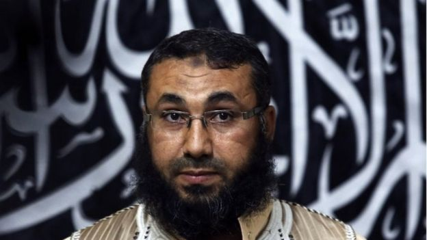 Mohammed Azahawi, head of the Benghazi brigade of Ansar al-Sharia (27 May 2014)