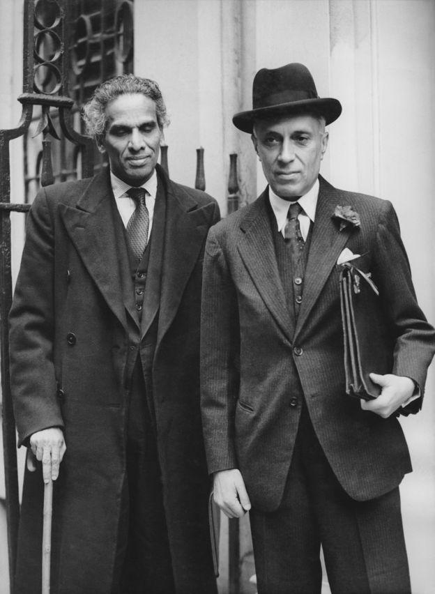 नेहरू और कृष्ण मेनन