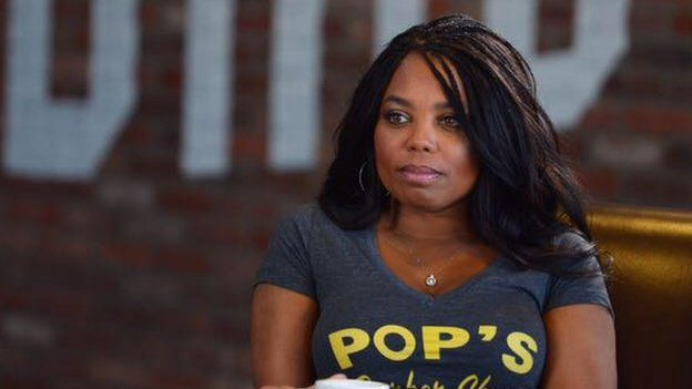 ESPN anchor Jemele Hill is seen in this undated Facebook photo.