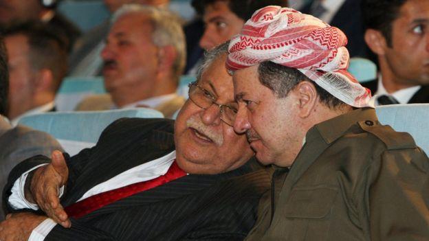 بارزانی و طالبانی