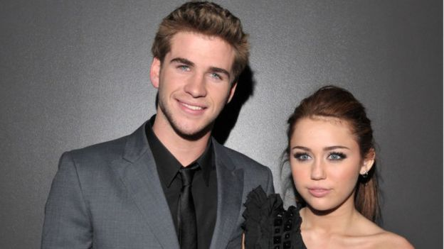 Miley and Liam in 2009