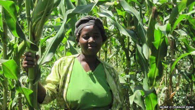 Kenyan farmer Mususya Kaisali