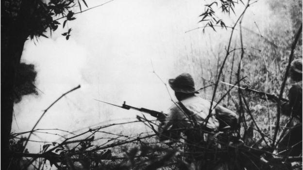 Ảnh tư liệu chiến sự gần Huế năm 1968