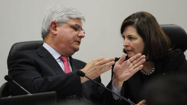Janot e Dodge em debate de candidatos à PGR