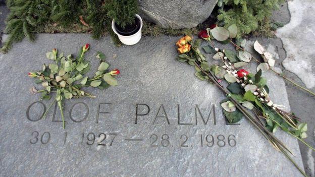 Tumba de Olof Palme