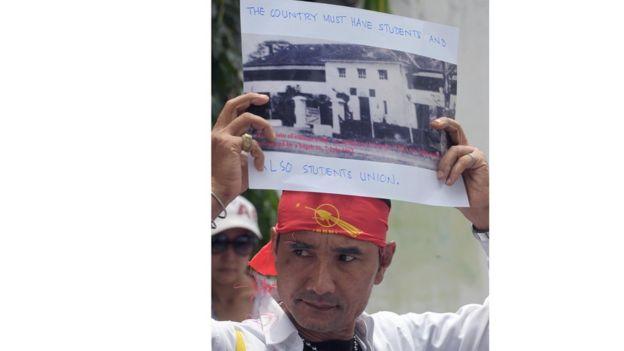 从缅甸七七学生惨案谈起