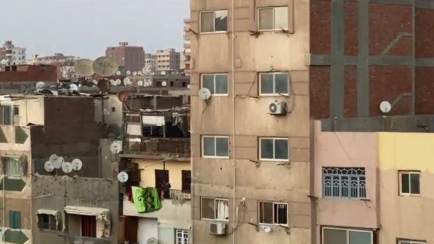 """أحداث الأميرية: """"مقتل مسلحين وضابط مصري"""" في تبادل لإطلاق النار شرقي القاهرة _111784505_capture"""
