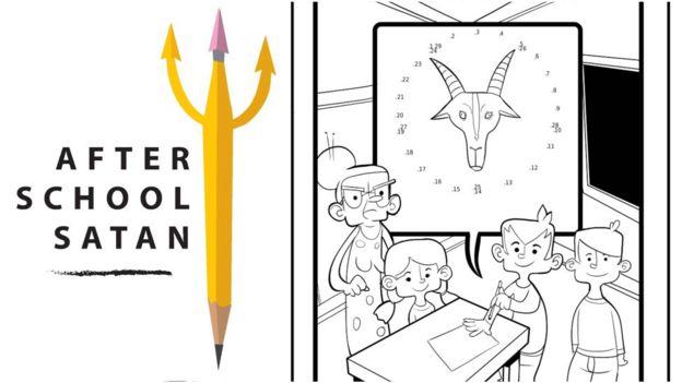 Apostila de ensino de satanismo