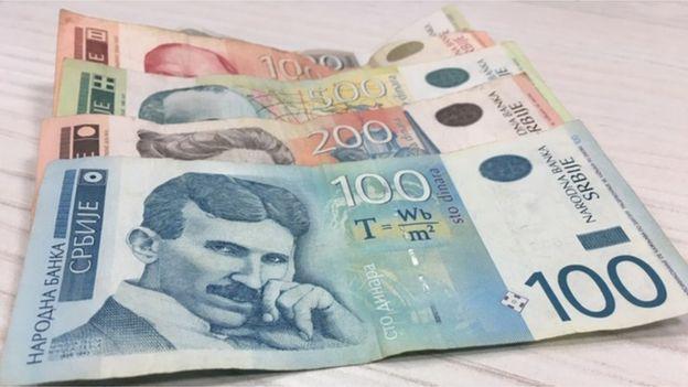 novčanice dinari