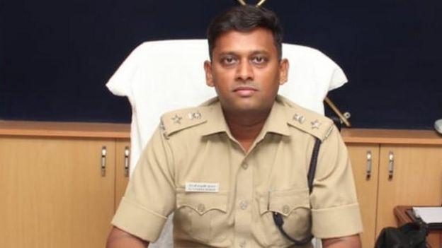 ராமநாதபுரம் மாவட்ட காவல் கண்காணிப்பாளர் டாக்டர் வருண்குமார்