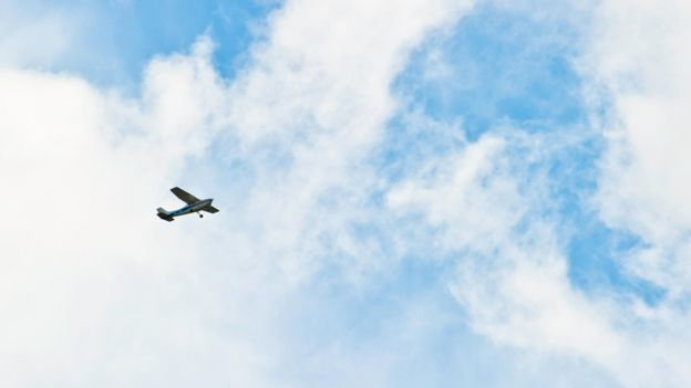 The pilots who risk their lives flying tiny planes over the