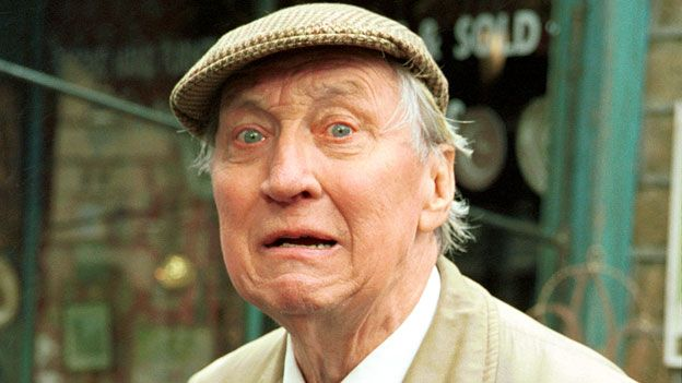 """Stephen Lewis as """"Smiler"""" in Last of the Summer Wine"""