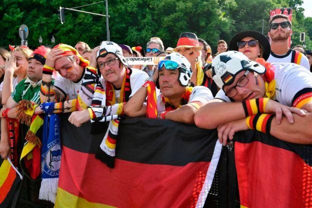 En Berlín no están disfrutando el partido.