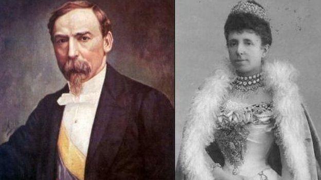 Carlos Holguín Mallarino e Maria Cristina