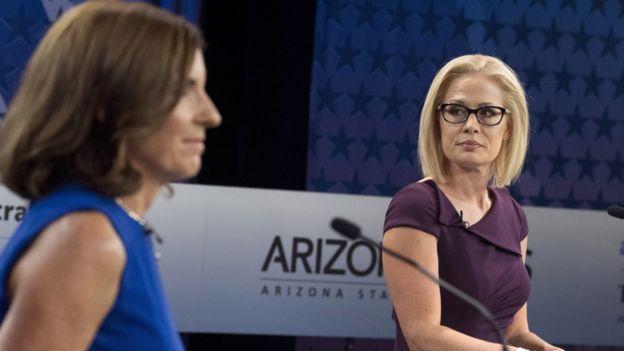 McSally y Sinema, candidatas al Senado por Arizona