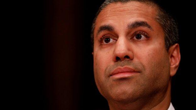 Ajit Pai, director de la FCC.