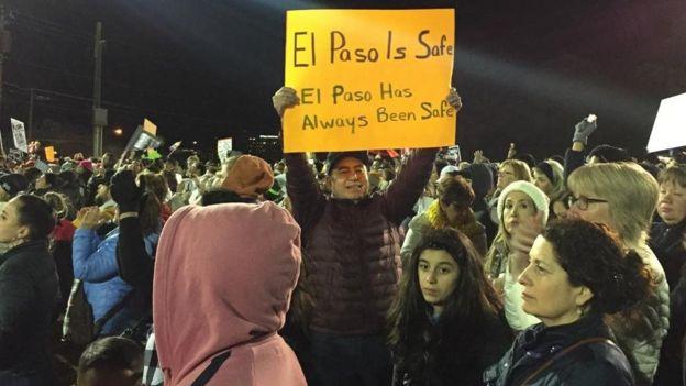 Manifestación en contra de Trump