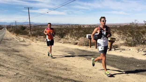 Runners in the Race Across the USA
