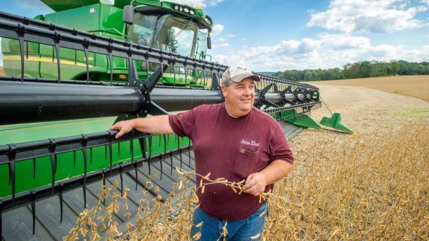 Американские фермеры любят Трампа. Они - основная цель китайского контрнаступления.