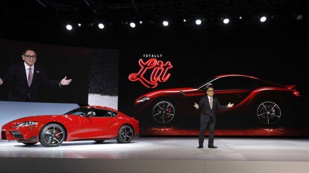 Toyota продемонструвала очікувану новинку - Supra