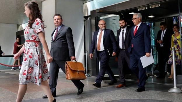Türk heyeti ABD'de