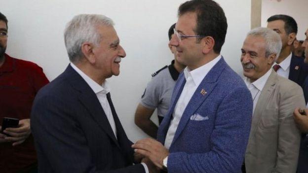 İmamoğlu, görevden alınan Diyarbakır, Van ve Mardin belediye başkanlarıyla görüşmüştü