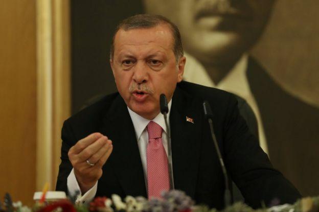 Cumhurbaşkanı Erdoğan: Muhalefetin temsilcisi 'SİHA'lar sivilleri vurdu' diyor. Nerede o siviller?