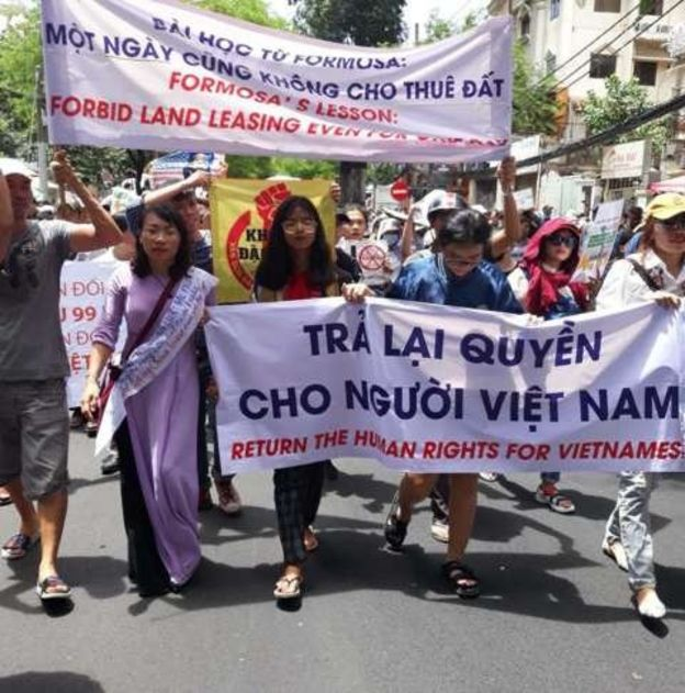 Việt Nam, biểu tình