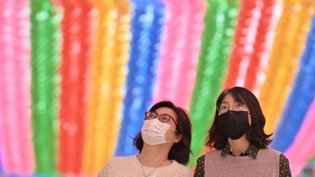 Две женщины в Сеуле