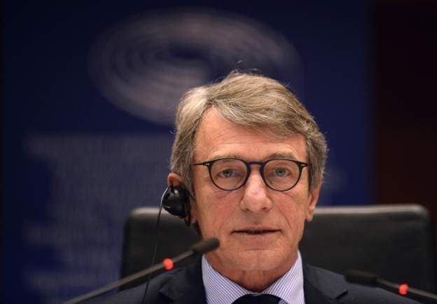Президент Европарлемента Давид Сассоли
