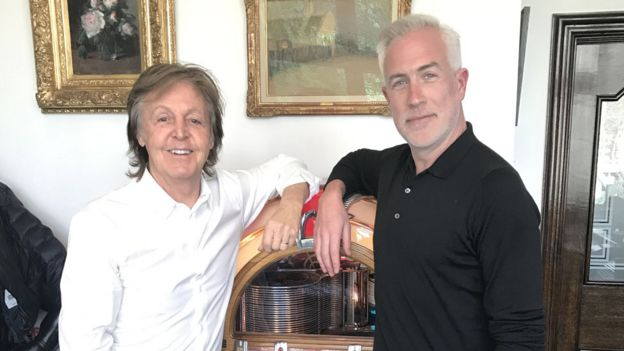 Sir Paul McCartney And Matt Everitt