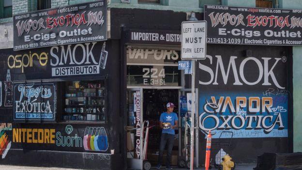 ویپنگ کی دکان